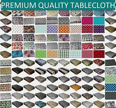 Wipe Clean Tablecloth Pvc Vinyl Oilcloth Table Cover Protector Lots  Of Design
