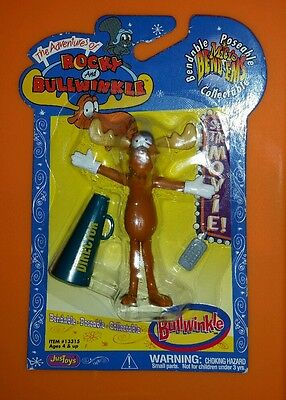 Bullwinkle Posable Justoys 2000 New 3""