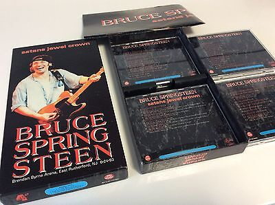 Box Bruce Springsteen Collection 4 Cd's Satans Jewel Crown