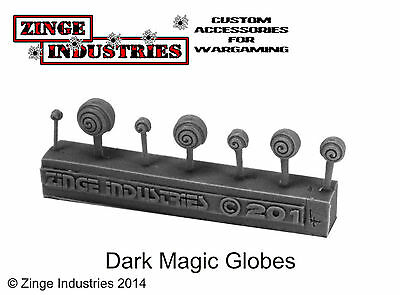Zinge Industries Dark Magic Globe Various x7 High Quality S-DMG01 Scenery New