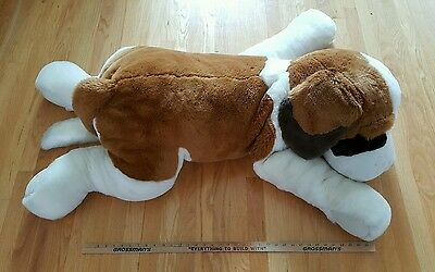 Fao Scharz Large Plush St Bernard Dog