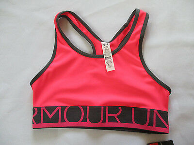 NWT Under Armour Youth Girl's Athletic Bra Size Small
