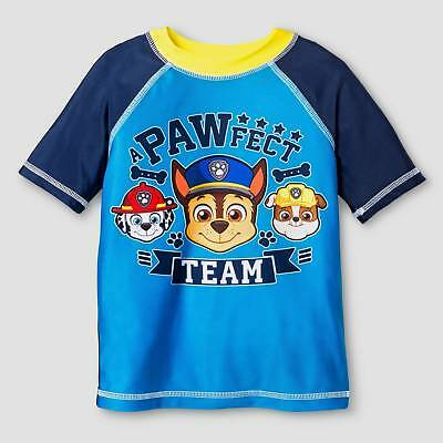 Toddler Boys' PAW Patrol® Short-Sleeve Rash Guard - Turquoise