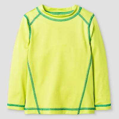 Baby Boys' Long-Sleeve Rash Guard Baby Cat & Jack™ - Neon Yellow