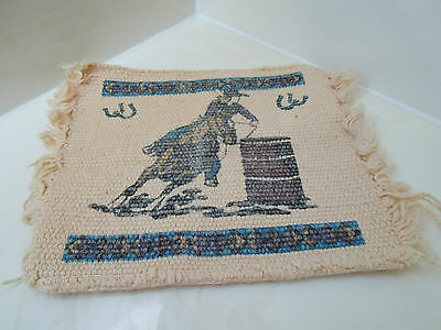 Vintage Collectable El Paso Saddlery Blanket Company - Cowgirl