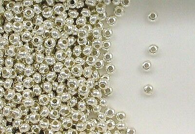 .925 Sterling Silver 3mm Donut Spacer Beads, Choice of Lot Size & Price