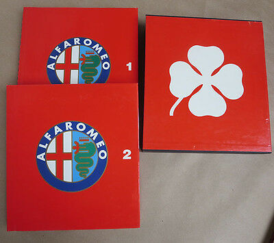 Book Alfa Romeo Catalogue Raisonne 1910-1982 by Automobilia 1982