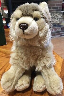 Webkinz Signature Timber Wolf Plush Toy; No Code/ Animal Only; Great Shape, Soft