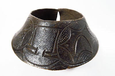 Alter großer Reif 1kg Yoruba Ibo Nupe Manilla Old big bracelet ancient Afrozip