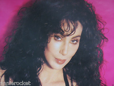"Cher-Love Hurts Tour 1992-UK 3 City Poster-Glasgow-Birmingham-London-40"" x 60"""