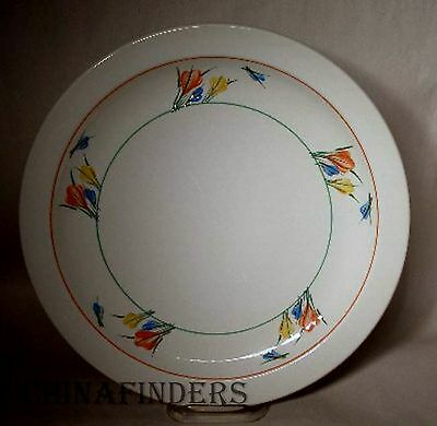 MIDWINTER (Wedgwood) china CROCUS pattern DINNER PLATE - 10-1/2""