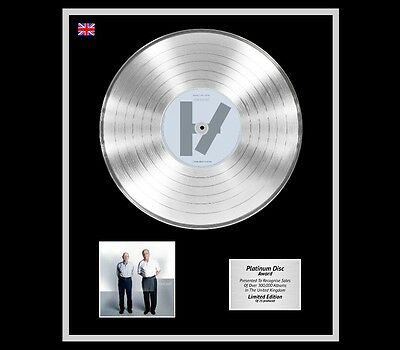 TWENTY ONE PILOTS Ltd Edition CD Platinum Disc Record VESSEL