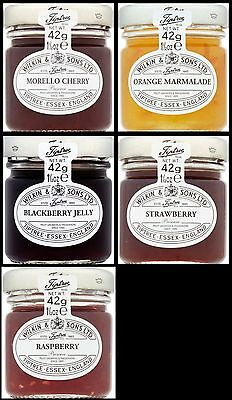 Bulk Buy Wilkin and Sons Tiptree 25 x 42g Mixed Mini Jam & Marmalade Hotel