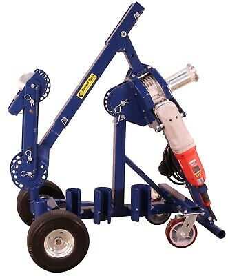 Current Tool 66 High Speed Cable Puller 6000# Rated W/ Mobile Cart