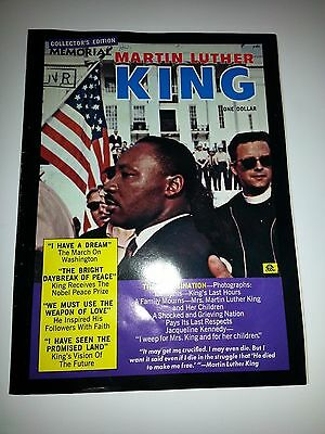 Martin Luther King Memorial Special Edition Magazine - 1968