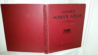 "Goode's ""School Atlas"" 1950 Edition Rand McNally"