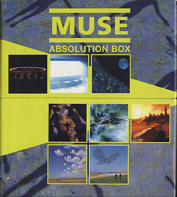 Muse - Absolution Box (4Xcd + 4Xdvd)