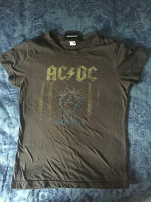 Acdc Junk Food T Shirt Size Large