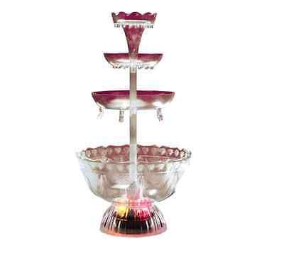 Nostalgia Electrics LPF220 Vintage Collection Lighted Party Fountain vintage new