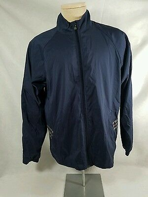 ADIDAS Golf running Climaproof Jacket Tequila Corazon De Agave Blue Sz M