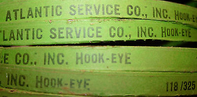 Lot of 5 Atlantic Service Hook-Eye  Band Saw Blade Blades 118""