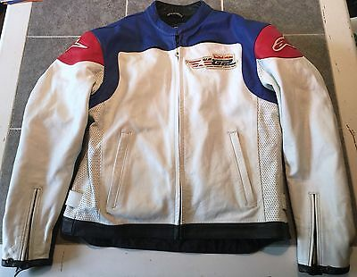 Red Bull MotoGP Red Bull athlete only Alpinestars Leather Motorcycle Jacket/ XL