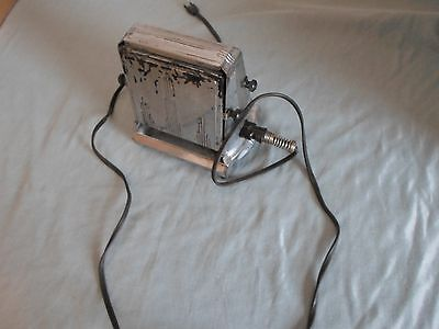 """Antique Manning Bowman flip side toaster  """"For display only"""""""