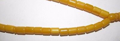 Vintage Amber Bakelite Catalin Prayer or Worry Beads Necklace