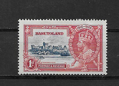 BASUTOLAND , SILVER JUBILEE , 1935 , 1p STAMP , PERF , VLH