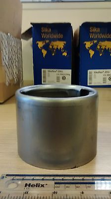 Weld On Large Aluminium Filler Neck with Locking Vented Cap Truck Fuel Tank  WTA