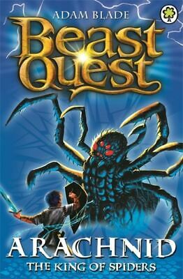 Beast quest.: Arachnid the King of Spiders by Adam Blade (Paperback) Great Value