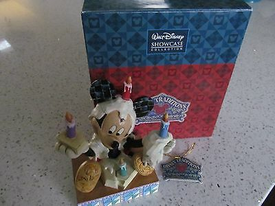 Mickey Mouse Birthday Cake Figurine Disney Traditions Designed by Jim Shore