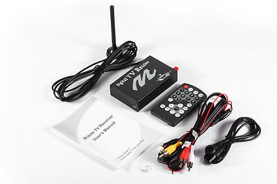 ATSC M/H In-Car Digital TV Tuner w/ Antenna for USA Canada North America Use