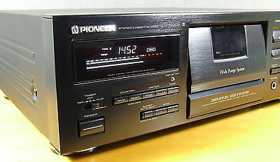 PIONEER CT-S920S REFERENZ, DOLBY S, NEW BELTS & IDLER, MINT COND. mit BDA/OM