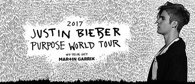 1x Justin Bieber Melbourne ticket, Friday 10th March 2017