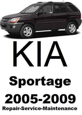 KIA Sportage 2005-2009 Repair manual. Dealership edition. Over 1000 pages!