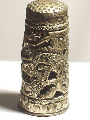 REPOUSSE Tall THIMBLE with Unique Design