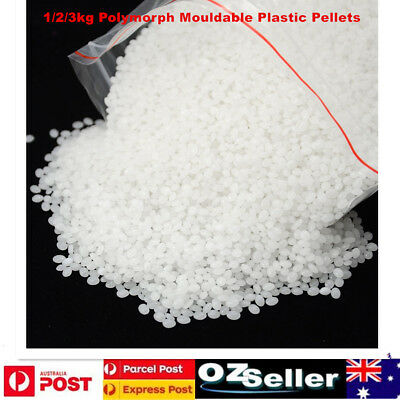 1/2/3kg Polymorph Mouldable Plastic Pellets DIY Plastimake Thermoplastic PCL