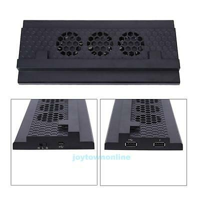 Vertical Stand Cooling Dock with 2 USB Ports 3 High Speed Fans for Xbox one S