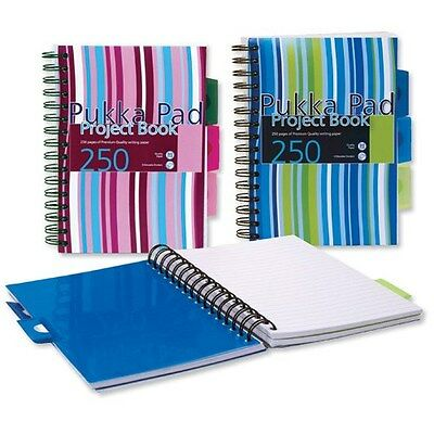 Pukka Pad Project Book A5/A4 singles or sets