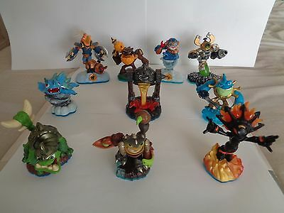 Skylanders figures Set of 10