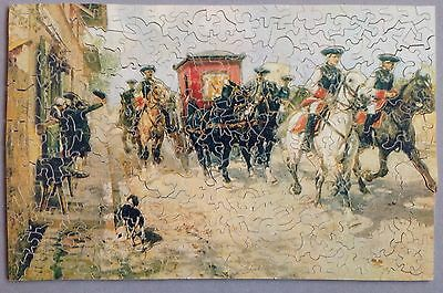 347 piece superb example ENID STOCKEN vintage wooden jigsaw puzzle. complete