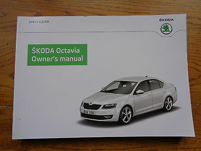 Skoda Octavia Owners Handbook/Manual 14-15