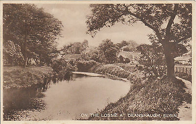 On The Lossie At Deanshaugh, ELGIN, Morayshire