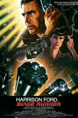 A5 Size Laminated Image Of The Movie Poster Blade Runner
