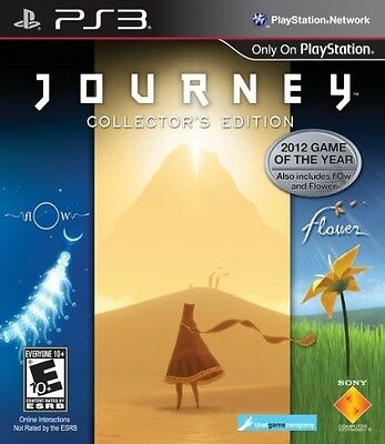 PS3 / Sony Playstation 3 - Journey - Collector's Edition (US) (NEU & OVP)