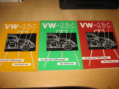 VW Beetle ABC - So sieht the vw from the inside from hand book 1 to 3