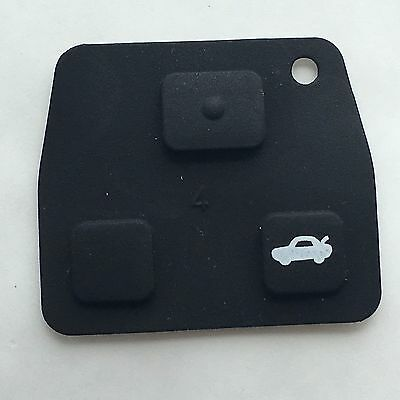 Toyota Rubber pad for 2 or 3 button key fob case Celica Avensis Corolla repair