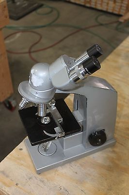 Reichert Microscope With W10X Eye Pieces