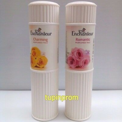 200g Enchanteur Perfumed Talc Powder Romantic Charming Fragrance Body Beauty New